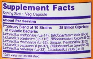 Now foods probiotic
